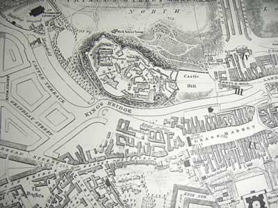 Medieval Port City Map